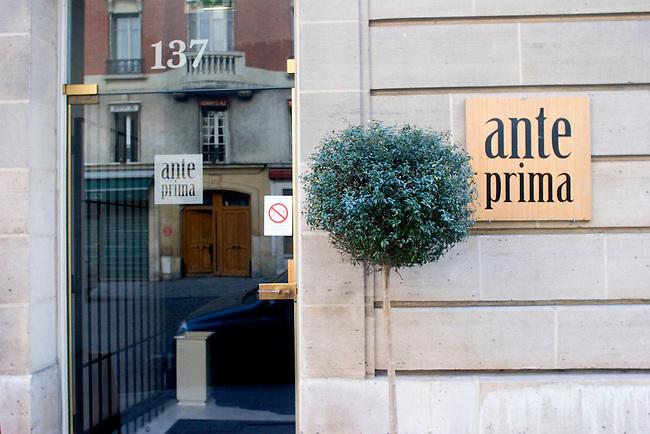 Exterior, Ante Prima Restaurant, Paris, France, Europe