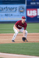 July 4, 2009: Yakima Bears third baseman Matthew Davidson, the Arizona Diamondbacks first pick in the Compensation-A round, mans the hot corner during a Northwest League game against the Everett AquaSox at Everett Memorial Stadium in Everett, Washington.