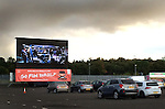 Gone back to my car after the match to find that the Albion Carpark is now a drive-in movie theatre with movie fans watching the big screen through their steamy windows.