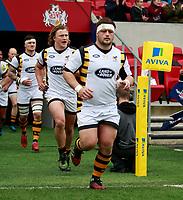 Photo: Richard Lane/Richard Lane Photography. Bristol Rugby v Wasps. Aviva Premiership. 16/04/2017. Wasps' Phil Swainston.
