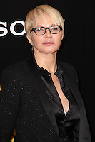 """NEW YORK, NY - FEBRUARY 04: Ellen Barkin at the New York Premiere Of Columbia Pictures' """"The Monuments Men"""" held at Ziegfeld Theater on February 4, 2014 in New York City, New York. (Photo by Jeffery Duran/Celebrity Monitor)"""