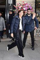 Ines de la Fressange - Show Schiaparelli - Paris Fashion Week Haute Couture Spring-Summer 2017 - 23 janvier 2017 - FRANCE