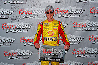 19 June, 2011: Kurt Busch won the pole for the 43rd Annual Heluva Good! Sour Cream Dips 400 at Michigan International Speedway in Brooklyn, Michigan. It was his third pole in a row. (Photo by Jeff Speer :: SpeerPhoto.com)