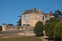 Europe/France/Aquitaine/24/Dordogne/Sainte-Mondane: Château de Fénelon, situé sur les hauteurs de Sainte-Mondane d'où il surplombe toute la vallée de la Dordogne,