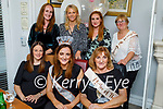 Michelle Fahey from Tipperary celebrating her hen party in Bella Bia on Saturday and is getting married to Dan Stack from the Spa Tralee, seated l to r: Helen Kelly Stack, Michelle and Christine Fahey. Back l to r: Aileen O'Connell, Alison O'Keeffe, Bernadette Fahey and Dolores Stack.