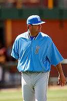 John Savage, head coach of the UCLA Bruins, playing against the Arizona State Sun Devils  at Packard Stadium, Tempe, AZ - 05/24/2009.Photo by:  Bill Mitchell/Four Seam Images