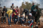 © Remi OCHLIK/IP3 -   Benghazi  March 21, 2011 - Funerals of libyan civilians who d been killed by Khadafi forces the day before