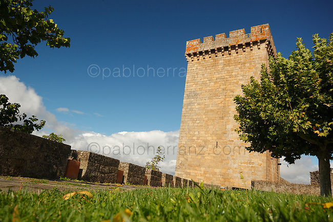 Castillo de Monforte de Lemos.