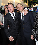Channing Tatum and Wyatt Russell attends The Columbia Pictures' 22 JUMP STREET Premiere held at The Regency Village Theatre in Westwood, California on June 10,2014                                                                               © 2014 Hollywood Press Agency
