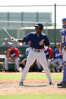 LeVon Washington - Cleveland Indians - 2010 Instructional League.Photo by:  Bill Mitchell/Four Seam Images..