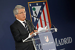 Atletico de Madrid's President Enrique Cerezo. July 10, 2015. (ALTERPHOTOS/Acero)