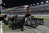#7: Korbin Forrister, All Out Motorsports, Toyota Tundra 50 Egg Music, makes a pit stop