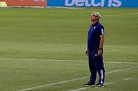 São Paulo (SP), 14/11/2020 - Palmeiras-Fluminense - Odair Hellmann técnico do Fluminense. Partida entre Palmeiras e Fluminense jogo válido pela 21ª rodada do Campeonato Brasileiro neste sábado (14), no Allianz Parque em São Paulo (SP).