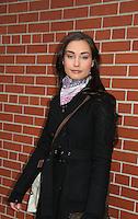 "Ewa Da Cruz ""Vienna Hyatt"" - outside the As The World Turns Studios on February 5, 2010 in Brooklyn, New York. (Photo by Sue Coflin/Max Photos)"