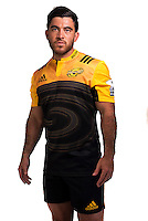 Nehe Milner-Skudder. Hurricanes Super Rugby official headshots at Rugby League Park, Wellington, New Zealand on Wednesday, 6 January 2016. Photo: Dave Lintott / lintottphoto.co.nz