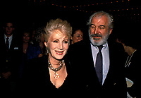 Olympia Dukakis And Husband  1989  Credit: Ralph Dominguez/MediaPunch