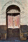 Cairo, Egypt -- An old door in Coptic Cairo. © Rick Collier / RickCollier.com