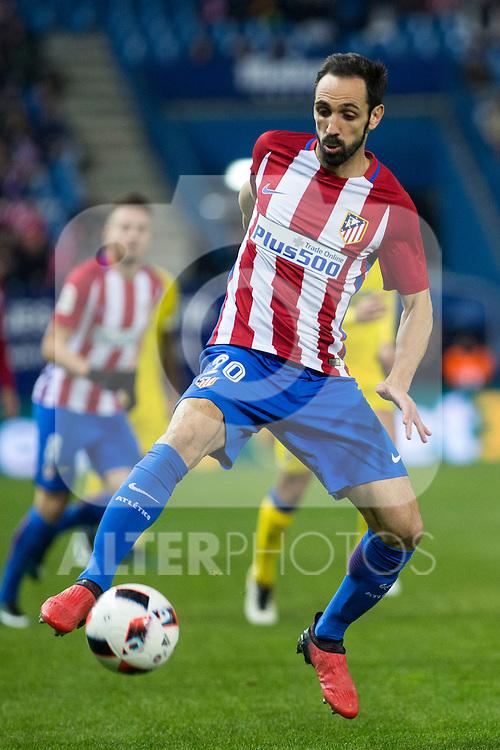 Atletico de Madrid's Juanfran Torres during the match of Copa del Rey between Atletico de Madrid and Las Palmas, at Vicente Calderon Stadium,  Madrid, Spain. January 10, 2017. (ALTERPHOTOS/Rodrigo Jimenez)