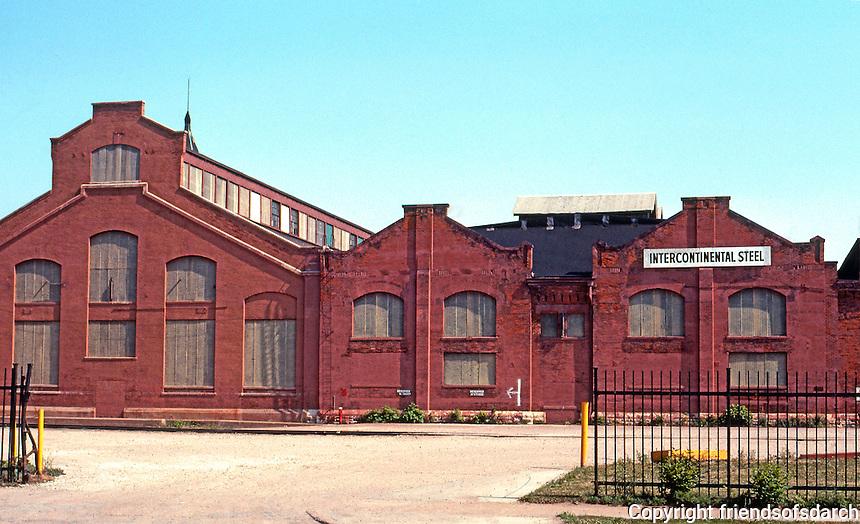 Pullman:  Old Pullman Works.  Photo '77.