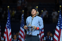 Naomi Osaka (Nap) defeated Serena Williams (USA)<br /> Flushing Meadows 08-09-2018 US Open<br /> Tennis Grande Slam 2018 <br /> Finale Donne <br /> Women's Final <br /> Foto Couvercelle /Panoramic / Insidefoto <br /> ITALY ONLY