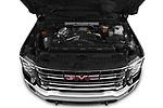 Car Stock 2020 GMC Sierra-2500-HD SLT 4 Door Pick-up Engine  high angle detail view