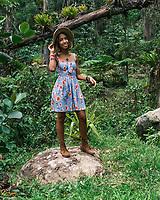 Aidelisa en Bosque Carite. Cayey, Puerto Rico
