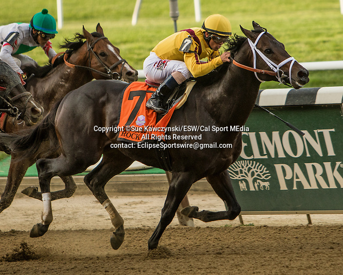 September 26 2015: Rock Fall with Javier Castellano win the Grade I Vosburgh for 3-year olds & up, going 6  furlongs at Belmont Park.  Trainer Todd Pletcher. Owner Stonestreet Stables. Sue Kawczynski/ESW/CSM