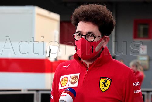 30th October 2020, Imola, Italy; FIA Formula 1 Grand Prix Emilia Romagna, inspection day; Mattia Binotto ITA, Scuderia Ferrari Mission Winnow