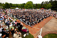 Graduation ceremony for Belmont Abbey College in Belmont, NC, held May 15, 2010. The baccalaureate commencement was the school's 132 graduation ceremony. Honorary degrees were given to Father Pascal Morlino, Father James Schall and Reverand Monsignor Mauricio West.