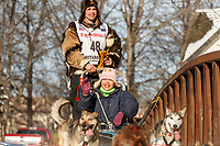 Jeremy Keller during the ceremonial start of the 2019 Iditarod.<br /> <br /> Photo by Jeff Schultz/  (C) 2019  ALL RIGHTS RESERVED