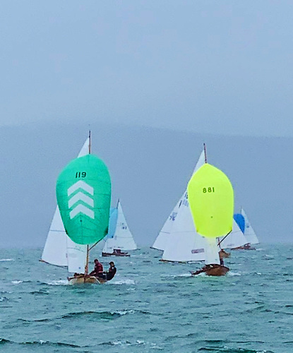 Championships conditions for the Dublin Bay Mermaid class on Tralee By in County Kerry