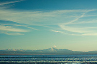 The Lake District and the Solway Firth from Powfoot, Dumfries and Galloway