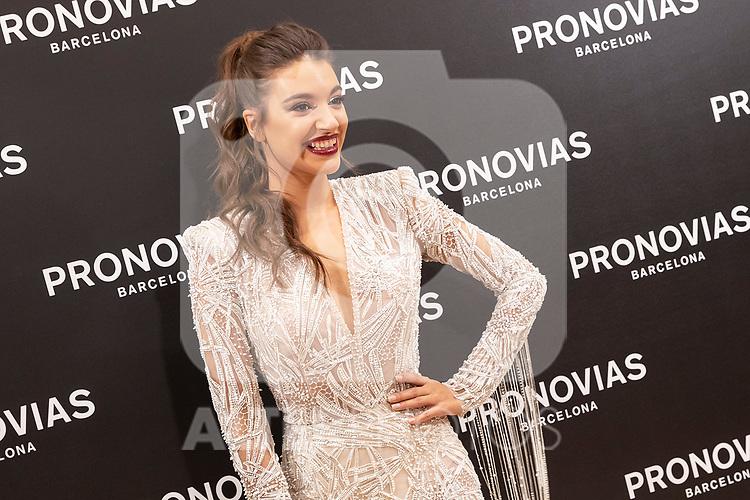 Spanish singer Ana Guerra during the presentation of the new Pronovias 2020 collection. September 25, 2019. (ALTERPHOTOS/Johana Hernandez)