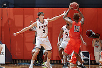 SAN ANTONIO, TX - JANUARY 1, 2017: The University of Texas at San Antonio Roadrunners defeat the University of Texas at El Paso Miners 67-55 at the UTSA Convocation Center. (Photo by Jeff Huehn)