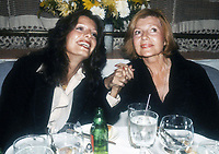 Yasmin Khan w/mother RitaHayworth 1982 Photo by Adam Scull-PHOTOlink.net