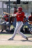 Mark Hallberg - Arizona Diamondbacks - 2009 spring training.Photo by:  Bill Mitchell/Four Seam Images