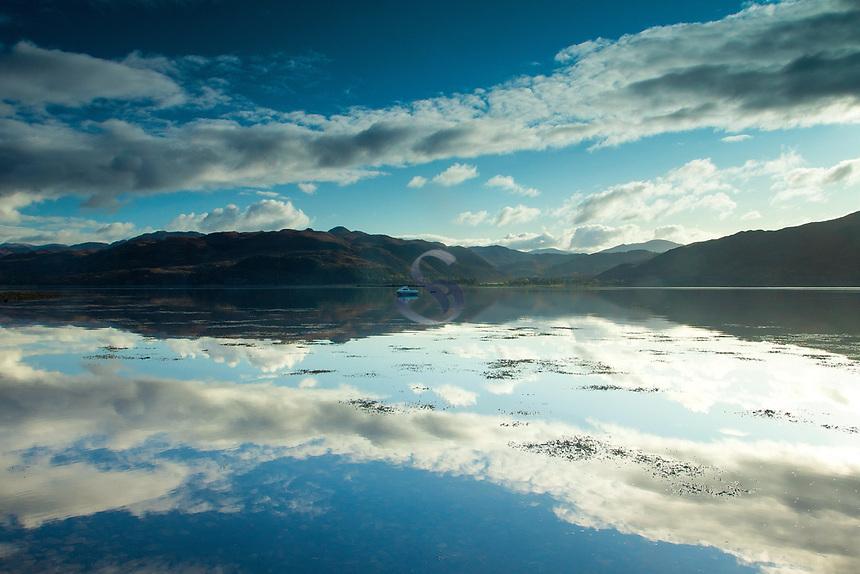 Loch Carron from Lochcarron, Ross & Cromarty, Northwest Highlands