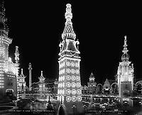 Night in Luna Park; Coney Island; N.Y.1905 (exact date unknown)