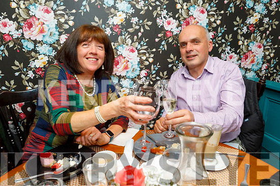 Margaret and Liam Voss from Currans celebrating their 5th wedding anniversary in Croi on Saturday.