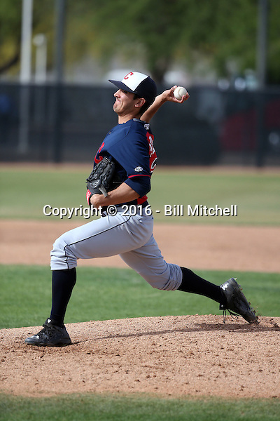 Nick Pasquale - Cleveland Indians 2016 spring training (Bill Mitchell)