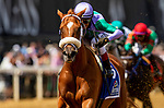 May 14, 2021: Spice is Nice (Curlin) (John Velazquez up, Todd Pletcher trainer, Lawana and Robert Low owners) wins the Allaire Dupont Distaff Stakes (G3) on Black-Eyed Susan Day at Pimlico Race Course in Baltimore, Maryland. Alex Evers/Eclipse Sportswire/CSM