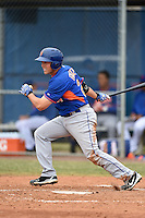 New York Mets first baseman Cole Frenzel (24) during a minor league spring training game against the St. Louis Cardinals on March 27, 2014 at the Port St. Lucie Training Complex in Port St. Lucie, Florida.  (Mike Janes/Four Seam Images)