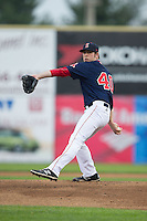 Salem Red Sox starting pitcher Aaron Wilkerson (40) in action against the Winston-Salem Dash at LewisGale Field at Salem Memorial Ballpark on May 14, 2015 in Salem, Virginia.  The Red Sox defeated the Dash 1-0.  (Brian Westerholt/Four Seam Images)