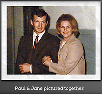 BNPS.co.uk (01202 558833)<br /> Pic: DeeperDorset/BNPS<br /> <br /> Pictured: Paul with his wife Jane.<br /> <br /> Historians say they are on the verge of solving the 52-year-old mystery of the death of a homesick airman who stole a military plane which then crashed into the English Channel.<br /> <br /> The tragic tale of a US Air Force mechanic Sergeant Paul Meyer has remained unsolved since the Hercules aircraft he took from a British airbase to get home vanished.