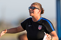 Bradenton, FL - Sunday, June 12, 2018: USA staff during a U-17 Women's Championship Finals match between USA and Mexico at IMG Academy.  USA defeated Mexico 3-2 to win the championship.