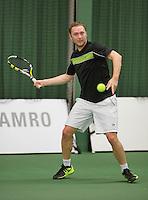Rotterdam, Netherlands, Januari 24, 2016,  ABNAMROWTT Supermatch, Brent van Dorssen (NED)<br /> Photo: Tennisimages/Henk Koster