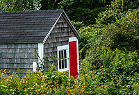 Rustic fisherman's shack, Chatham, Cape Cod, Massachusetts, USA.