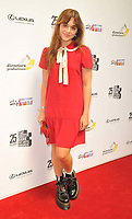Isabella Pappas at the South Bank Sky Arts Awards 2021, The Savoy Hotel, the Strand, on Monday 19 July 2021, in London, England, UK. <br /> CAP/CAN<br /> ©CAN/Capital Pictures