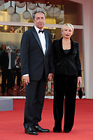 VENICE, ITALY - SEPTEMBER 11: Paolo Sorrentino and his Wife attend the closing ceremony red carpet during the 78th Venice International Film Festival on September 11, 2021 in Venice, Italy. <br /> CAP/MPI/AF<br /> ©AF/MPI/Capital Pictures
