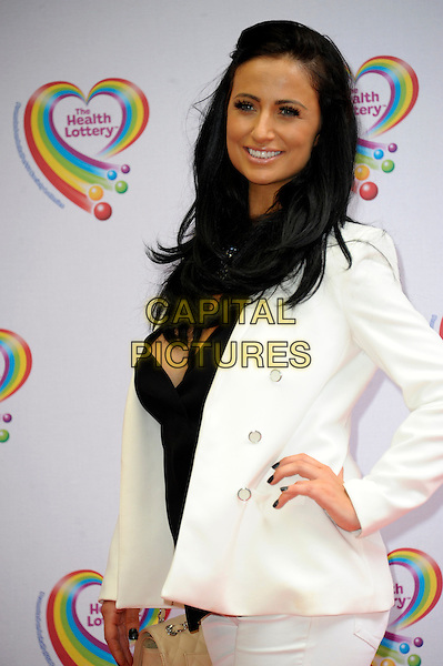 LONDON, ENGLAND - JUNE 02: Chantelle Houghton attends the Health Lottery Tea Party at The Savoy Hotel on June 2, 2014 in London, England.<br /> CAP/CJ<br /> ©Chris Joseph/Capital Pictures